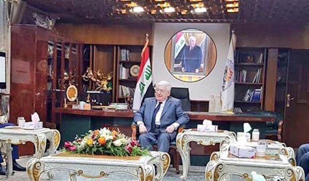 Irak Cumhurbaşkanı Masum'dan Kerkük'e ziyaret
