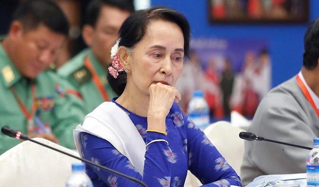 Myanmar lideri Suu Çii'ye verilen 'Oxford Özgürlük Nişanı' geri alındı