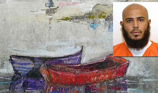 Guantanamo tutsaklarının eserleri ABD'de sergileniyor