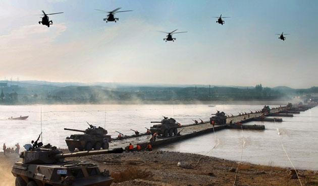 Çin ordusundan 'tatbikat' açıklaması