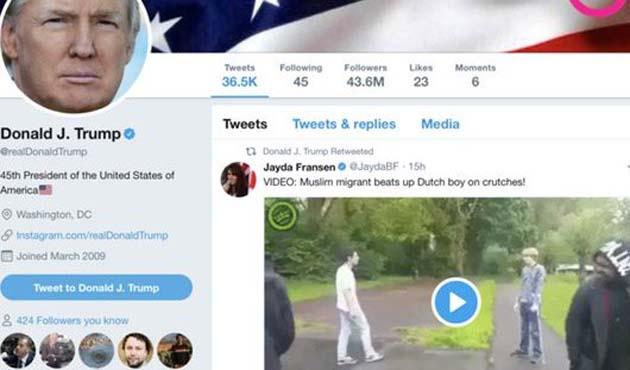 Trump'a cevap: Saldırgan Hollandalı