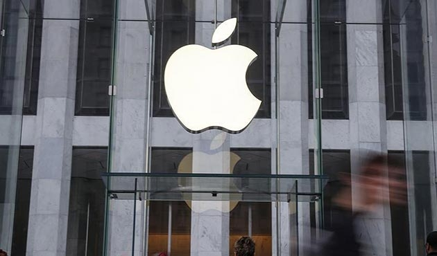 Apple hisselerinden rekor