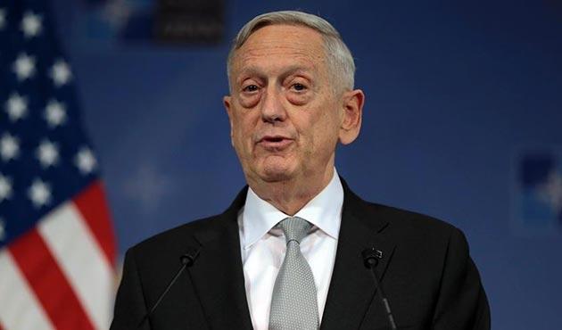 ABD Savunma Bakanı Mattis: Türkiye hava saldırısı konusunda bizi uyardı