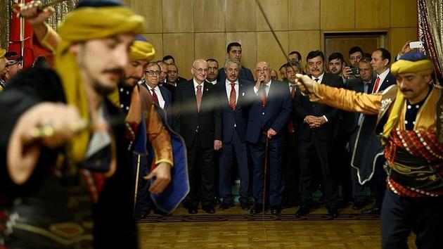 Kahraman, Ankara'daki STK temsilcilerini kabul etti