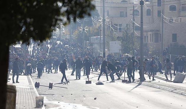İşgal güçlerinden Filistinli göstericilere müdahale: 108 yaralı