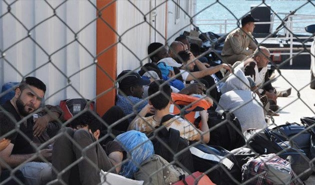 Edirne'de 178 kaçak ve sığınmacı yakalandı