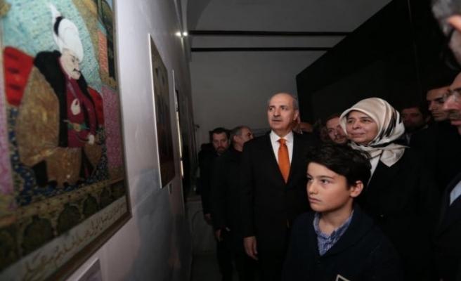 '500. Yılında Mukaddes Emanetler ve Yavuz Sultan Selim' sergisi