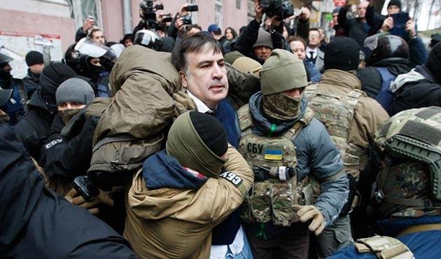 Saakaşvili bir kez daha gözaltında