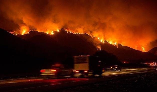 ABD büyük yangınlara iyi alıştı!