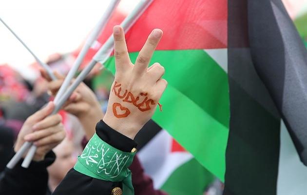 Kudüs düşerse değil 'Kudüs düşmeyecek!'