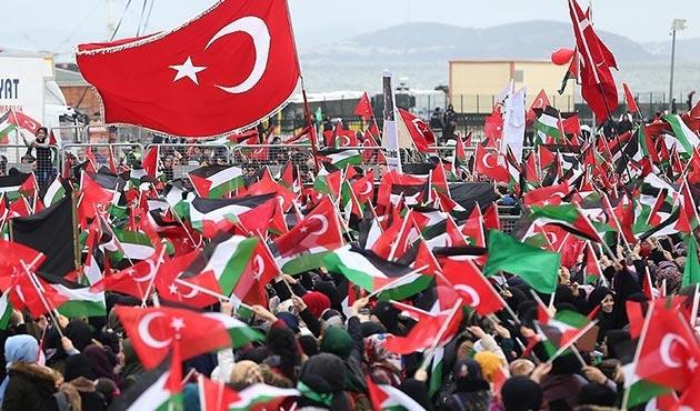 Yenikapı'da 'Kudüs İslam'ındır' mitingi düzenlendi