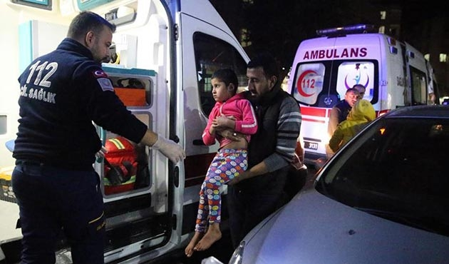 Şanlıurfa'da 12 Suriyeli gazdan zehirlendi