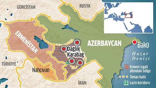 'Ermenilerin Dağlık Karabağ'la hiçbir tarihi bağı yok'