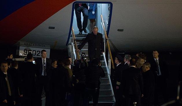 Rusya Devlet Başkanı Vladimir Putin Ankara'da