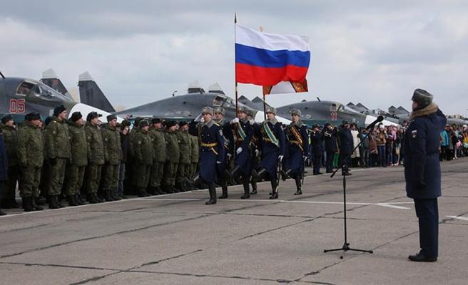 Rus birlikleri Suriye'den çekiliyor
