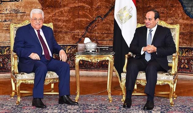 Abbas ile Sisi 'Filistin uzlaşısı'nı görüştü