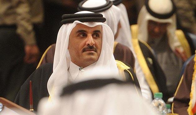 Katar Emiri Al Sani, İİT Olağanüstü Zirvesi için İstanbul'da