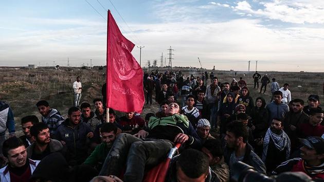 Batı Şeria'daki 'Kudüs' gösterilerinde 18 Filistinli daha yaralandı