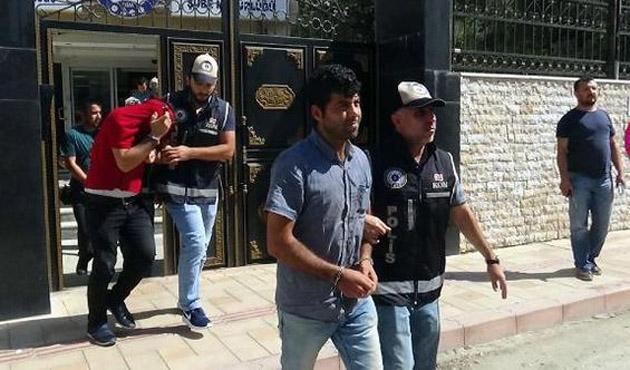 Hatay'da 16 yabancı uyruklu yakalandı