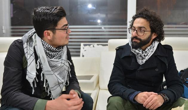 Filistinli yönetmen Ebu Salih Mardin'de
