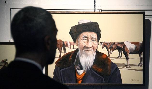 Ressam Başbuğ 'Asya'dan Anadolu'ya' sergisinde anılacak