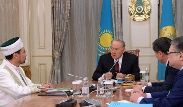 Nazarbayev Hanefi imamlarla çalışmak istiyor