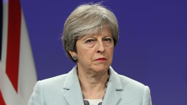 İngiltere Başbakanı May Güney Kıbrıs'ta