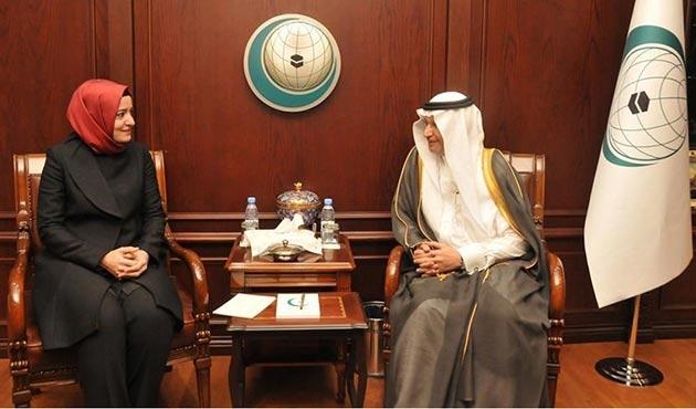 Bakan Kaya, İİT Genel Sekreteri ile bir araya geldi