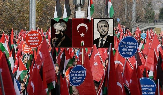 Ankara'da STK'lardan Kudüs Mitingi