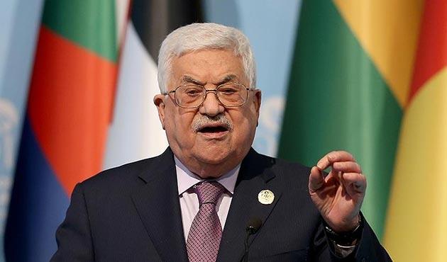 Abbas: Tüm dünya Doğu Kudüs'ü Filistin'in başkenti olarak kabul ediyor