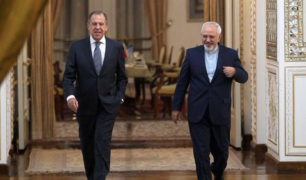 Lavrov ile Zarif İran'ın nükleer programını görüştü