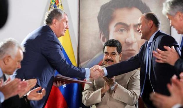 Rosneft, Venezuela'da iki doğalgaz sahası işletecek