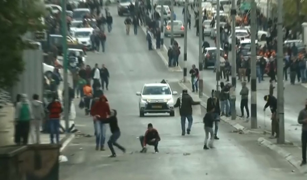 Filistin'deki Kudüs gösterilerine müdahale
