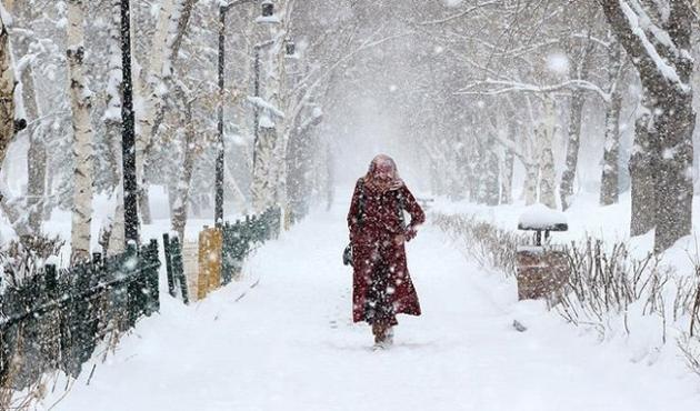 Trakya'da yoğun kar yağışı