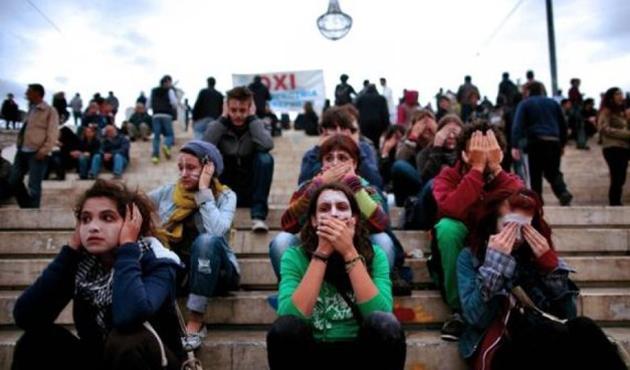 Yunanistan'da genç işsizlere 400 Avro prim