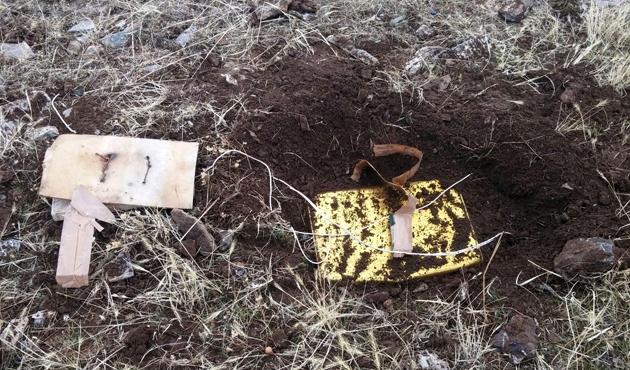 Bitlis'te 3 el yapımı patlayıcı imha edildi