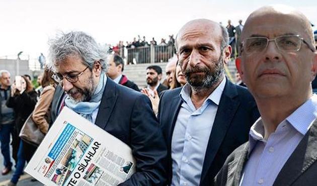 Dündar, Gül ve Berberoğlu'nun yargılandığı davada mütalaa
