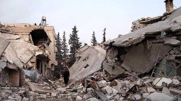 İdlib'e hava saldırılarında 7 sivil daha hayatını kaybetti
