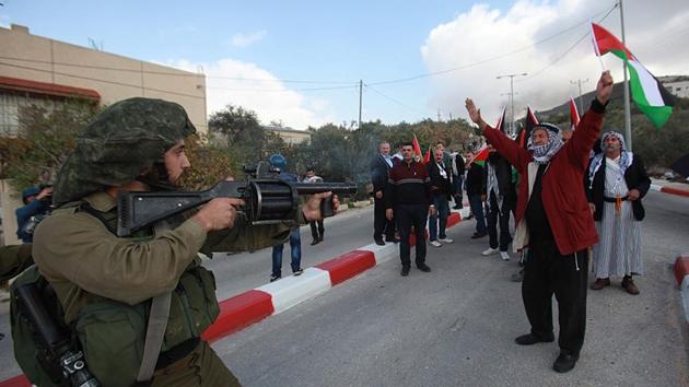 İşgal güçleri 'Yusuf Makamı'nda 3 Filistinliyi yaraladı