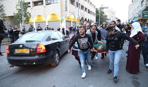 Batı Şeria'daki gösterilerde 26 Filistinli yaralandı
