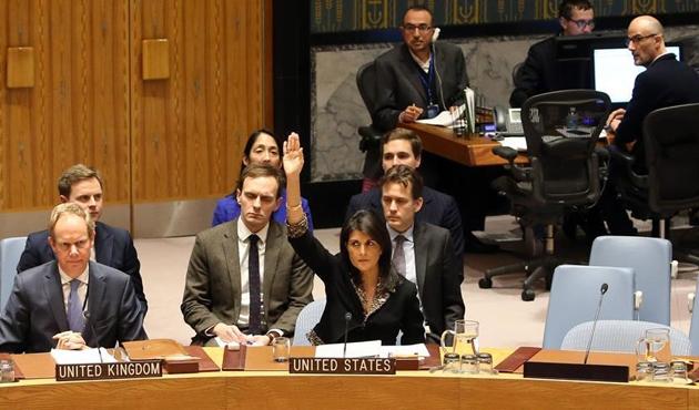'ABD Kudüs konusunda BM üyelerini tehdit etti' iddiası