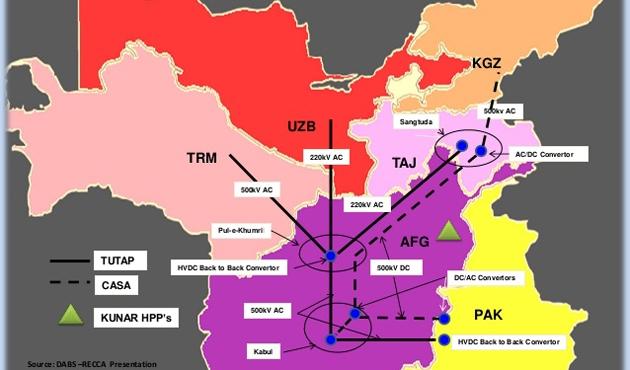 Türkmenistan, elektriğini Afganistan ve Pakistan'a ihraç edecek