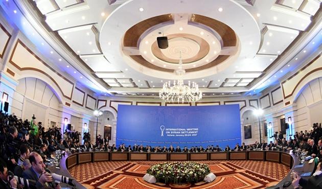 Suriye konulu 8. Astana toplantısı başladı