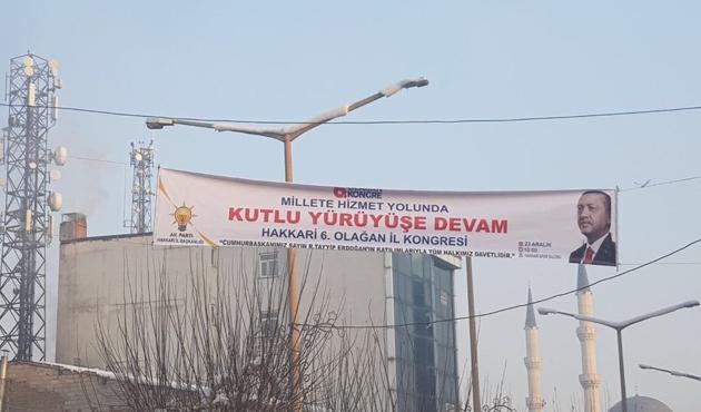 Cumhurbaşkanı Erdoğan Hakkari'de