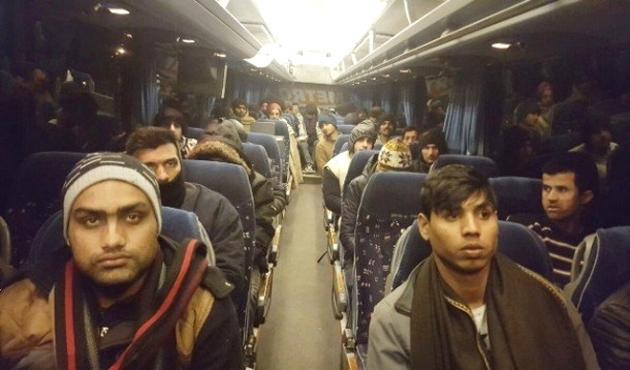 Suudi Arabistan'daki Etiyopyalı göçmenler ülkelerine döndü