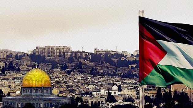 Kudüs'te bayrak savaşı sürüyor