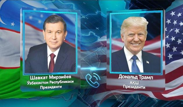 Trump'tan Mirziyayev'e davet