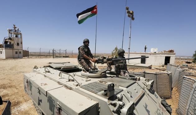 Ürdün'den Suriye sınırında operasyon