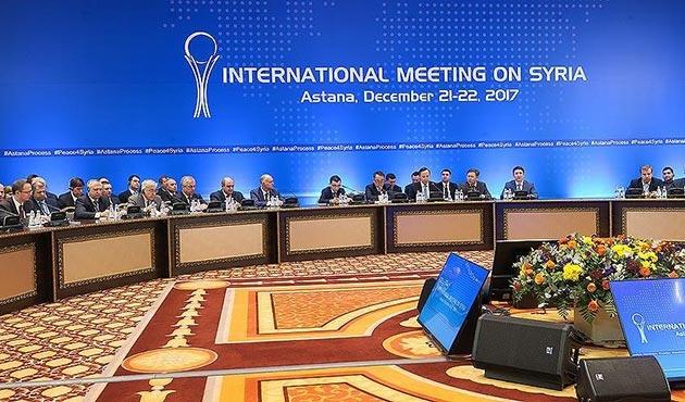 Astana'da Suriye konulu dışişleri bakanları toplantısı