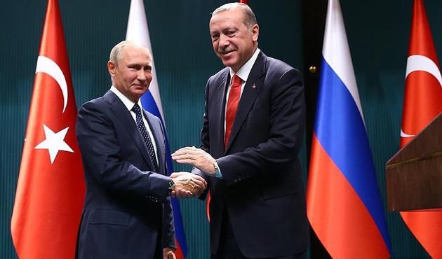 Cumhurbaşkanı Erdoğan'dan Putin'e 'Kudüs' teşekkürü